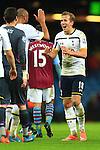 Tottenham's Harry Kane celebrates victory - Aston Villa vs. Tottenham Hotspurs - Barclay's Premier League - Villa Park - Birmingham - 02/11/2014 Pic Philip Oldham/Sportimage
