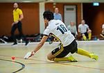 Almere - Zaalhockey  SCHC-Victoria (5-7)   . Romeo Pace (Victoria)  . TopsportCentrum Almere.    COPYRIGHT KOEN SUYK