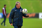 Roy Hodgson, England manager - England Training & Press Conference - UEFA Euro 2016 Qualifying - St George's Park - Burton-upon-Trent - 11/11/2014 Pic Philip Oldham/Sportimage
