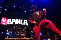 RIO DE JANEIRO; RJ; 27 DE JULHO DE 2013 - A BANCA - A banda santista A Banca, remanescentes do Charlie Brown Jr, se apresentaram na noite deste sábado no Citibank Hall, Barra da Tijiuca, zona oeste da cidade. FOTO: NÉSTOR J. BEREMBLUM - BRAZIL PHOTO PRESS.