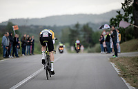 Australian TT Champion Luke Durbridge (AUS/Mitchelton-Scott)<br /> <br /> Stage 9 (ITT): Riccione to San Marino (34.7km)<br /> 102nd Giro d'Italia 2019<br /> <br /> ©kramon
