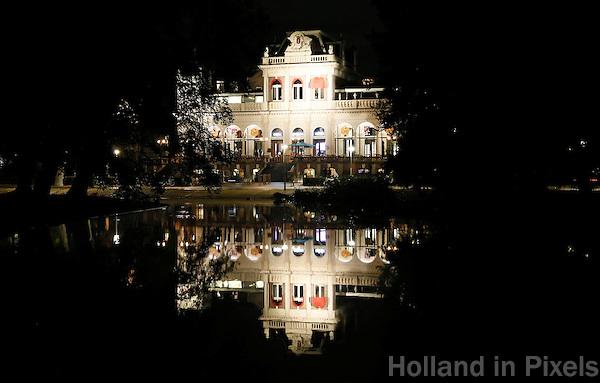 Nederland Amsterdam 2016.  VondelCS ( het vroegere Filmmuseum ) in het Vondelpark. Foto Berlinda van Dam / Hollandse Hoogte