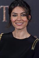 Marta Fernandez at The Hobbit premiere in Madrid