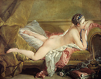 Francois Boucher:  Miss O'Higgins 1752.  Alte Pinakotek, Munich.  Reference only.