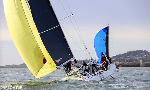 4th IRC Class 0 Hot Cookie GBR7536R Sunfast 3600 National Yacht Club John O'Gorman