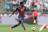 East Hartford, CT - Saturday July 01, 2017: Kellyn Acosta during an international friendly game between the men's national teams of the United States (USA) and Ghana (GHA) at Pratt & Whitney Stadium.