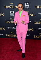 "LOS ANGELES, USA. July 10, 2019: Eric Andre at the world premiere of Disney's ""The Lion King"" at the Dolby Theatre.<br /> Picture: Paul Smith/Featureflash"
