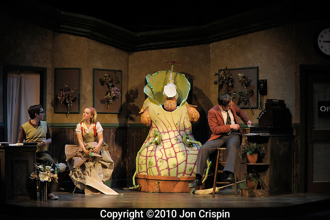 "UMASS ""Little Shop of Horrors""..© 2010JON CRISPIN .Please Credit   Jon Crispin.Jon Crispin   PO Box 958   Amherst, MA 01004.413 256 6453.ALL RIGHTS RESERVED"