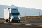 Trucking US 95, Mineral County, Nevada.