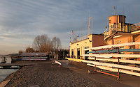Varese. Lombardia. ITALY. General View. Varese Rowing Club. [Canottieri Varese] Province of Varese.  Sunset <br /> <br /> Monday  02/01/2017<br /> <br /> [Mandatory Credit; Peter Spurrier/Intersport-images]<br /> <br /> <br /> LEICA CAMERA AG - LEICA Q (Typ 116) - 1/320 - f4