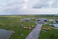 St. Lucie Fair Ground processing site before Hurricane Dorian in St. Lucie, Fla. on September 1, 2019.