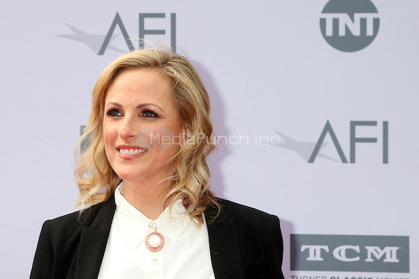 LOS ANGELES, CA - JUNE 9: Marlee Matlin at the American Film Institute 44th Life Achievement Award Gala Tribute to John Williams at the Dolby Theater on June 9, 2016 in Los Angeles, California. Credit: David Edwards/MediaPunch