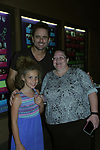 "Nashville's Charles Esten ""Deacon"" performs live in concert and poses with Stephanie & Vikki Thompson at WolfTrap, Vienna, Virginia. (Photo by Sue Coflin/Max Photos)"