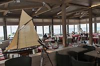 France, Ille-et-Vilaine (35), Côte d'Emeraude, Saint-Malo, Restaurant: Le Bénétin  // France, Ille et Vilaine, Cote d'Emeraude (Emerald Coast), Saint Malo, restaurant: Le Bénétin