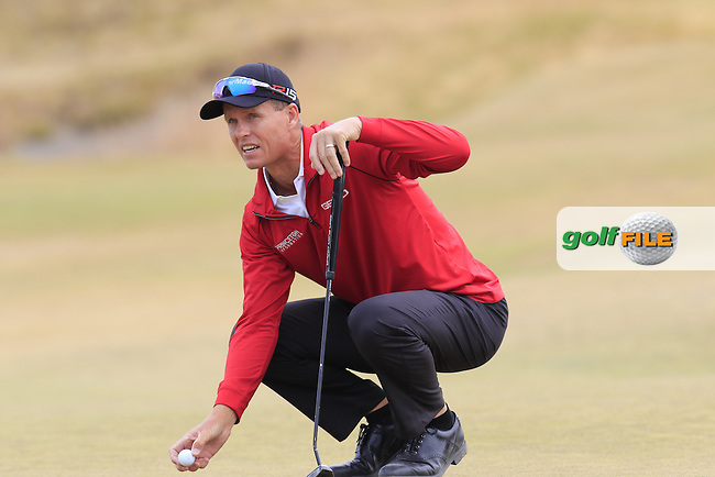John SENDEN (AUS) on the 17th green during Thursday's Round 1 of the 2015 U.S. Open 115th National Championship held at Chambers Bay, Seattle, Washington, USA. 6/18/2015.<br /> Picture: Golffile   Eoin Clarke<br /> <br /> <br /> <br /> <br /> All photo usage must carry mandatory copyright credit (&copy; Golffile   Eoin Clarke)