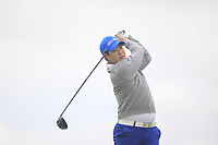 Seungbo Jang of Team Republic of Korea on the 10th tee during Round 4 of the WATC 2018 - Eisenhower Trophy at Carton House, Maynooth, Co. Kildare on Saturday 8th September 2018.<br /> Picture:  Thos Caffrey / www.golffile.ie<br /> <br /> All photo usage must carry mandatory copyright credit (&copy; Golffile | Thos Caffrey)