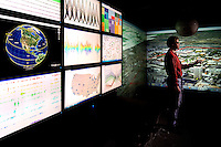 The Charlotte Visualization Center is a highly interdisciplinary center that applies interactive visualization and visual analytics to a variety of large scale and complex problems in science, engineering, medicine, business, design, and the arts. ..Photo by: PatrickSchneiderPhoto.com