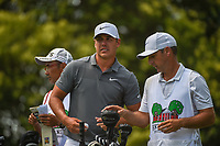 Brooks Koepka (USA) looks over his tee shot on 9 during round 3 of the Fort Worth Invitational, The Colonial, at Fort Worth, Texas, USA. 5/26/2018.<br /> Picture: Golffile | Ken Murray<br /> <br /> All photo usage must carry mandatory copyright credit (&copy; Golffile | Ken Murray)