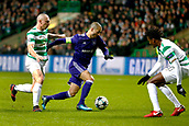 5th December 2017; Glasgow, Scotland; Sofiane Hanni midfielder of RSC Anderlecht breaks through the box during the Champions League Group B match between Celtic FC and Rsc Anderlecht