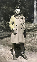 BNPS.co.uk (01202 558833)Pic:  EzraFamily/BNPS<br /> <br /> Gabriella during the war.<br /> <br /> Brighton nonagenarian Gabriella Ezra(91) has finally been recognised for her wartime heroics...<br /> <br /> The extraordinary story of how a teenage girl saved an entire village from being executed by the Nazis has come to light after she finally received a gallantry award nearly 74 years later.<br /> <br /> Fearless Gabriella Ezra, 91, who lives in Brighton, Sussex, intervened to stop her father Luigi and 37 other inhabitants of a rural village in her native Italy from being massacred by a firing squad during the chaotic last days of WW2.<br /> <br /> She has now been awarded an Italian Star of Italy medal after her son Mark wrote to the Italian embassy to make them aware of her remarkable actions on the morning April 28, 1945.<br /> <br /> Gabriella, who was 17 years old at the time, chased after a German officer and pleaded with him to show mercy to the villagers of Capella di Scorze, near Venice, who had been rounded up and locked in a cowshed.<br /> <br /> The Germans were after retribution following an attack on their men by Italian partisans which had left several of them wounded.