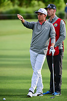 Rickie Fowler (USA) looks over his approach shot on 10 during round 1 of the Shell Houston Open, Golf Club of Houston, Houston, Texas, USA. 3/30/2017.<br /> Picture: Golffile | Ken Murray<br /> <br /> <br /> All photo usage must carry mandatory copyright credit (&copy; Golffile | Ken Murray)