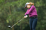 Zhang Yuyang of China tees off at the 14th hole during Round 2 of the World Ladies Championship 2016 on 11 March 2016 at Mission Hills Olazabal Golf Course in Dongguan, China. Photo by Lucas Schifres / Power Sport Images