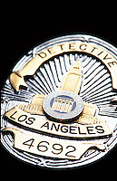 Los Angeles Detective Badge