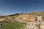 Israel, the Upper Galilee. Hurbat Beck on Mount Meron