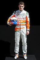FORCE INDIA BRITISH DRIVER PAUL DI RESTA. .Melbourne 16/03/2013 .Formula 1 Gp Australia.Foto Insidefoto.ITALY ONLY .Posato Ritratto Pilota