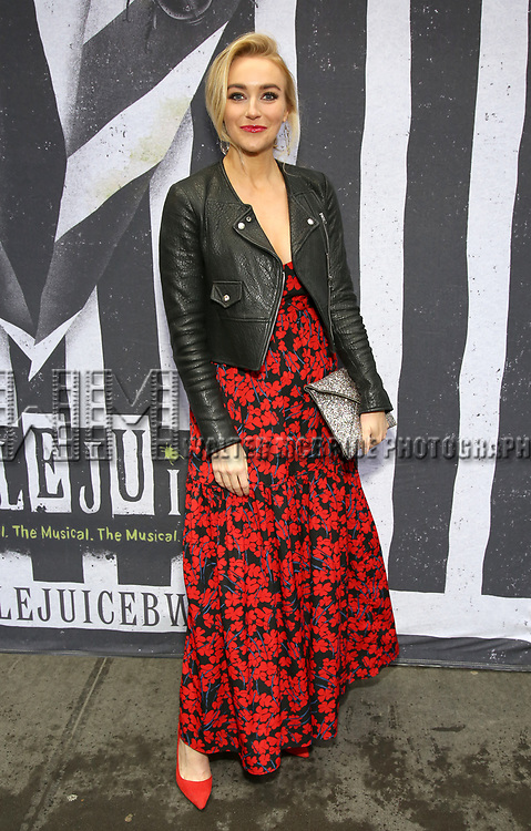 """Betsey Wolfe attends the Broadway Opening Night Performance for """"Beetlejuice"""" at The Wintergarden on April 25, 2019  in New York City."""