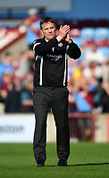 Bolton Wanderers manager Phil Parkinson at the final whistle<br /> <br /> Photographer Chris Vaughan/CameraSport<br /> <br /> The EFL Sky Bet League One - Scunthorpe United v Bolton Wanderers - Saturday 8th April 2017 - Glanford Park - Scunthorpe<br /> <br /> World Copyright &copy; 2017 CameraSport. All rights reserved. 43 Linden Ave. Countesthorpe. Leicester. England. LE8 5PG - Tel: +44 (0) 116 277 4147 - admin@camerasport.com - www.camerasport.com