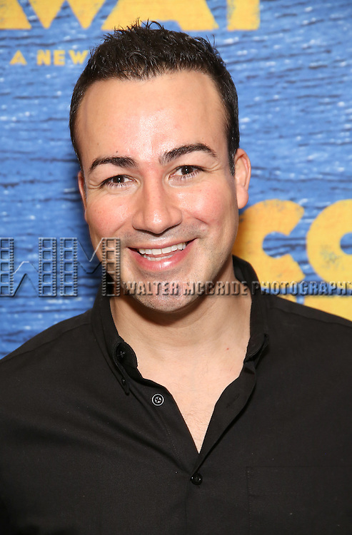 Caesar Samayoa attends the press day for Broadway's 'Come From Away' at Manhattan Movement and Arts Center on February 7, 2017 in New York City.