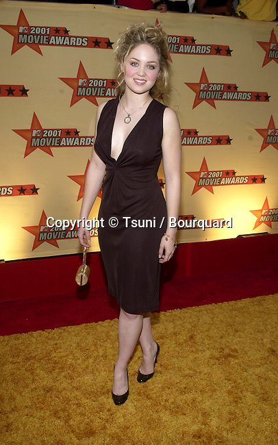 Actress Erika Christensen arrives at the 2001 MTV Movie Awards held at the Shrine Auditorium in Los Angeles, CA., Saturday, June 2, 2001.  ChristensenErika22.JPG