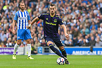 Nikola Vlasic of Everton (27) during the Premier League match between Brighton and Hove Albion and Everton at the American Express Community Stadium, Brighton and Hove, England on 15 October 2017. Photo by Edward Thomas / PRiME Media Images.