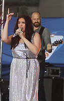 NEW YORK, NY - JULY 6:  Hillary Scott  of Lady Antebellum perform at Citi Concert Series on NBC's Today Show  at Rockefeller Center in New York City on July 06, 2018. <br /> CAP/MPI/RW<br /> &copy;RW/MPI/Capital Pictures