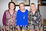 Tima O'Shea, Mary Maunsell and Mary Moriarty (all from Tralee) enjoying Women's Christmas at Bella Bia restaurant, Tralee on Monday evening.