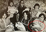 A leapling pictured alongside other babies in 1980 is trying to track them down to recreate the pic