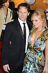LOS ANGELES, CA. - January 23: Stephen Moyer (L) and actress Anna Paquin arrive at the 16th Annual Screen Actors Guild Awards held at The Shrine Auditorium on January 23, 2010 in Los Angeles, California.