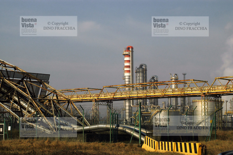 - Mantova, chemical industrial area<br />
