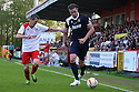 Mark Beard, Andy Carroll. Mitchell Cole Benefit Match - Lamex Stadium, Stevenage - 7th May, 2013. © Kevin Coleman 2013. ..
