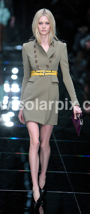 **ALL ROUND PICTURES FROM SOLARPIX.COM**                                             **NO UK NEWSPAPER PUBLICATION**.**UK MAGAZINE & SUPPLEMENT PUBLICATION ONLY** AND NO PUBLICATION IN AUSTRALIA, BELGIUM, FRANCE, GERMANY, ITALY, SCANDINAVIA AND USA**                                                                                  Caption: The Burberry 2011 catwalk show as part of London Fashion Week at Chelsea College of Art and Design, London, UK. 21 September 2010                                                                                This pic:  Burberry Show                                                                                            JOB REF: 12164 SFE       DATE: 21_09_2010                                                           **MUST CREDIT SOLARPIX.COM OR DOUBLE FEE WILL BE CHARGED**                                                                      **MUST AGREE FEE BEFORE ONLINE USAGE**                               **CALL US ON: +34 952 811 768 or LOW RATE FROM UK 0844 617 7637**