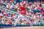 7 September 2014: Washington Nationals starting pitcher Gio Gonzalez on the mound against the Philadelphia Phillies at Nationals Park in Washington, DC. The Nationals defeated the Phillies 3-2 to salvage the final game of their 3-game series. Mandatory Credit: Ed Wolfstein Photo *** RAW (NEF) Image File Available ***