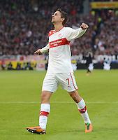 FUSSBALL   1. BUNDESLIGA  SAISON 2012/2013   9. Spieltag   VfB Stuttgart - Eintracht Frankfurt      28.10.2012 Martin Harnik (VfB Stuttgart)