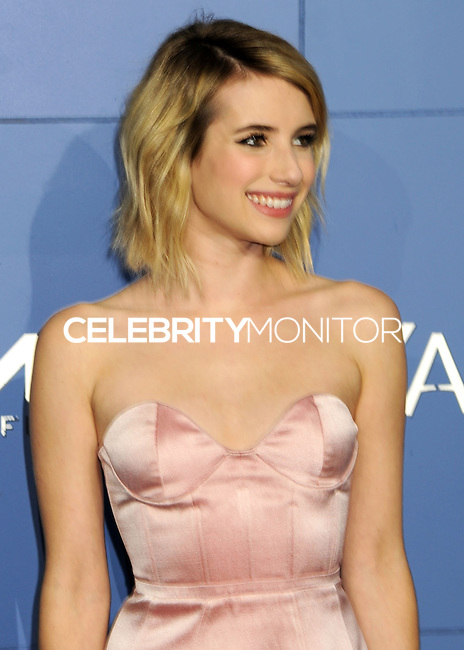 "NEW YORK CITY, NY, USA - MAY 10: Emma Roberts at the World Premiere Of Twentieth Century Fox's ""X-Men: Days Of Future Past"" held at the Jacob Javits Center on May 10, 2014 in New York City, New York, United States. (Photo by Celebrity Monitor)"