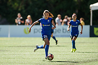Seattle, WA - Saturday, August 26th, 2017: Rumi Utsugi during a regular season National Women's Soccer League (NWSL) match between the Seattle Reign FC and the Portland Thorns FC at Memorial Stadium.