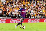 Nelson Semedo of FC Barcelona in action during their La Liga 2018-19 match between Valencia CF and FC Barcelona at Estadio de Mestalla on October 07 2018 in Valencia, Spain. Photo by Maria Jose Segovia Carmona / Power Sport Images