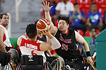 Hiroaki Kozai (JPN),<br /> SEPTEMBER 15, 2016 - Wheelchair Basketball : <br /> 9th place match between Japan 65-52 Iran<br /> at Rio Olympic Arena<br /> during the Rio 2016 Paralympic Games in Rio de Janeiro, Brazil.<br /> (Photo by Shingo Ito/AFLO)