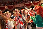 27. 02.2019, Maritim Hotel , Koeln,  GER, Karnevalssitzung des 1. FC Koeln , <br /> <br /> im Bild / picture shows: <br /> die Garde zieht mit den Ehrengaesten und den Oldstar Spielern des FC Koeln ein<br /> <br /> Foto © nordphoto / Meuter