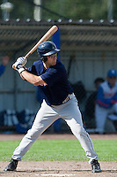 14 September 2009: Matthew McGraw of Great Britain is seen at bat during the 2009 Baseball World Cup Group F second round match game won 15-5 by South Korea over Great Britain, in the Dutch city of Amsterdan, Netherlands.