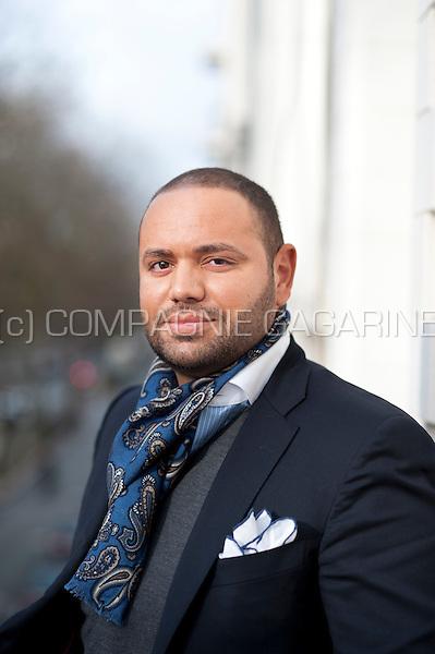 Belgian businessman and football agent Fouad Ben Kouider (Belgium, 13/01/2016)